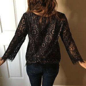 Beautiful lace Loft shirt